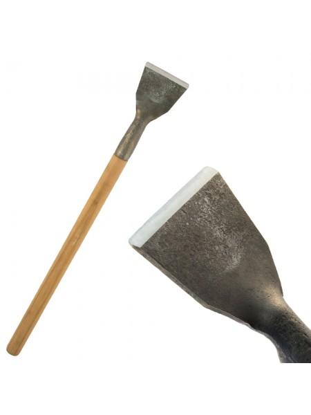 Скобельная лопатка ПЕТРОГРАДЪ №1 (100 мм, прямая РК, прямая лопасть)