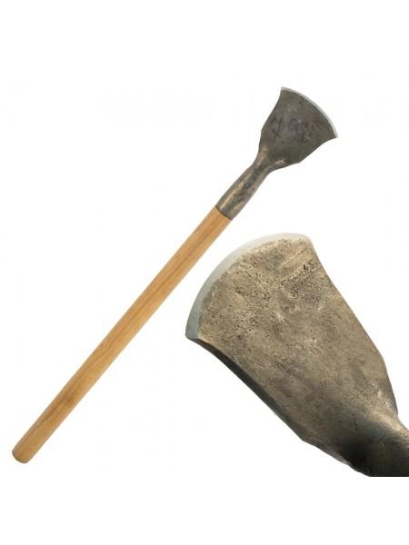 Скобельная лопатка ПЕТРОГРАДЪ №2 (110 мм, скругленная РК, прямая лопасть)