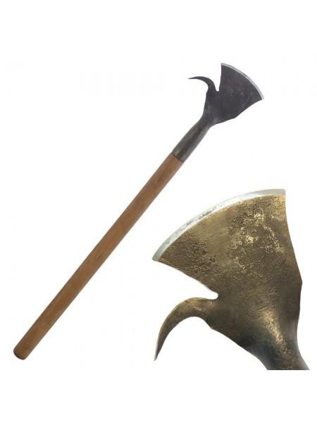 Скобельная лопатка ПЕТРОГРАДЪ №5 (110 мм, скругленная РК, с крюком, прямая лопасть)