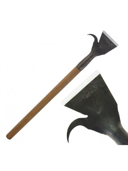 Скобельная лопатка ПЕТРОГРАДЪ №3 (100 мм, прямая РК, с крюком, прямая лопасть)