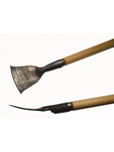 Скобельная лопатка ПЕТРОГРАДЪ №7 (110 мм, скругленная РК, изогнутая лопасть)